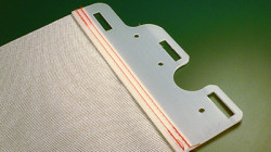 High Performance Fabric for Seating Suspensions